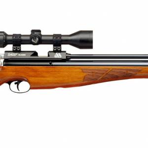 Air Arms S400 .22 Air Rifle - Beech Stock